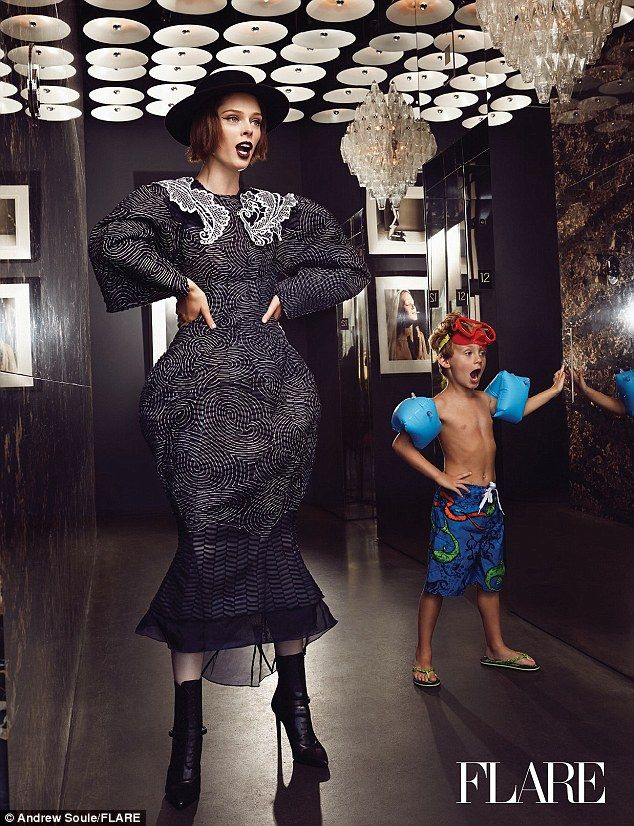Supermodel Coco Rocha and her husband James Conran go for