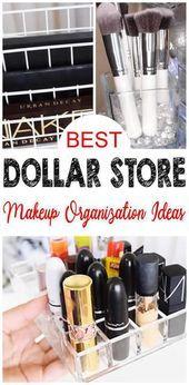 11 Dollar Store Makeup Organization Hacks That Are Borderline Genius