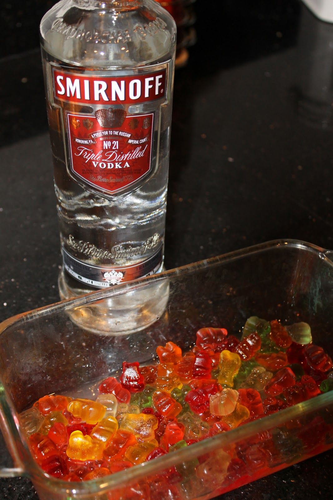 how to make vodka gummy bears in a few hours