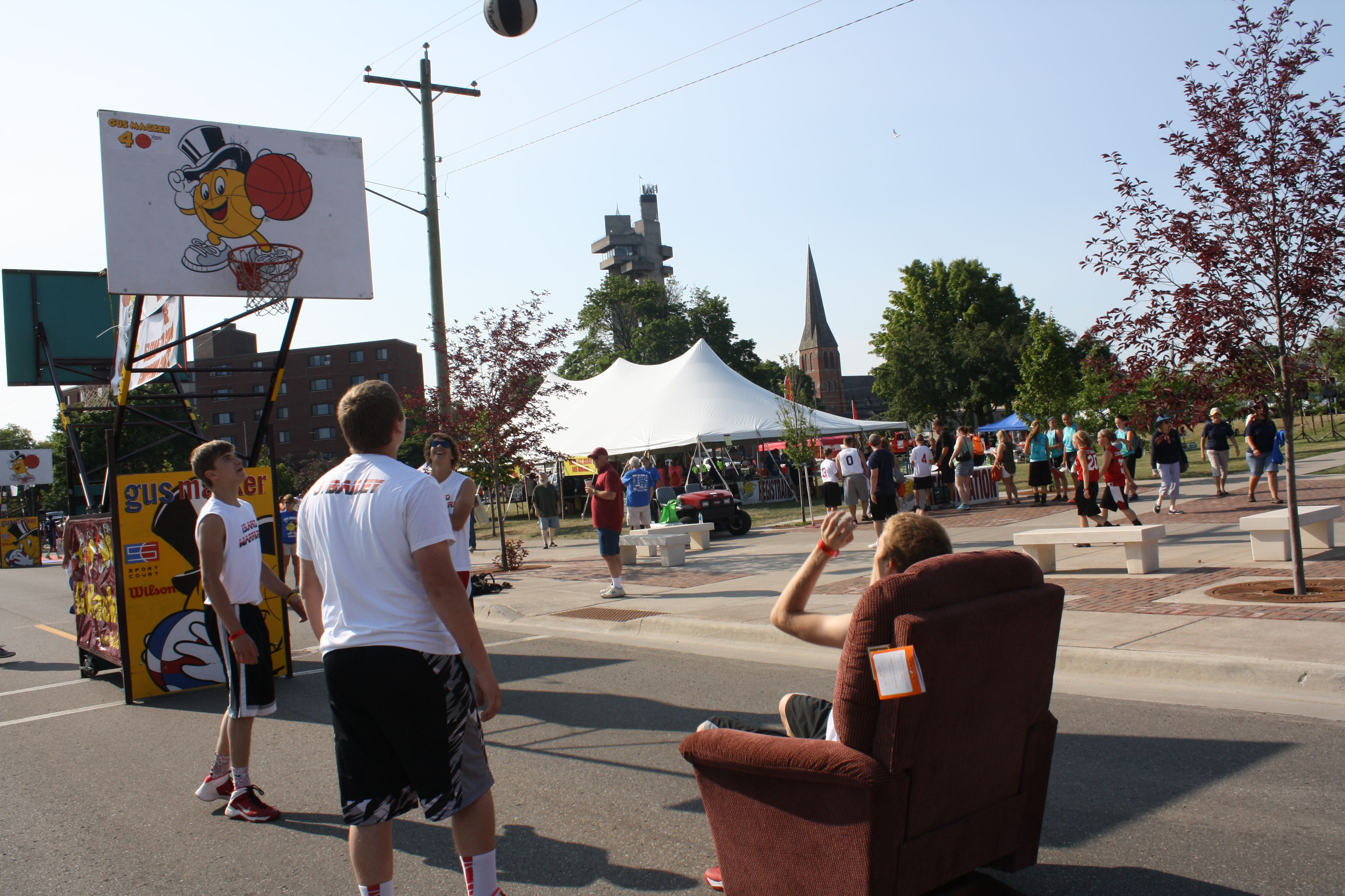 You wouldn't want to miss out on the special events while at the Gus Macker in Sault Ste. Marie, MI.