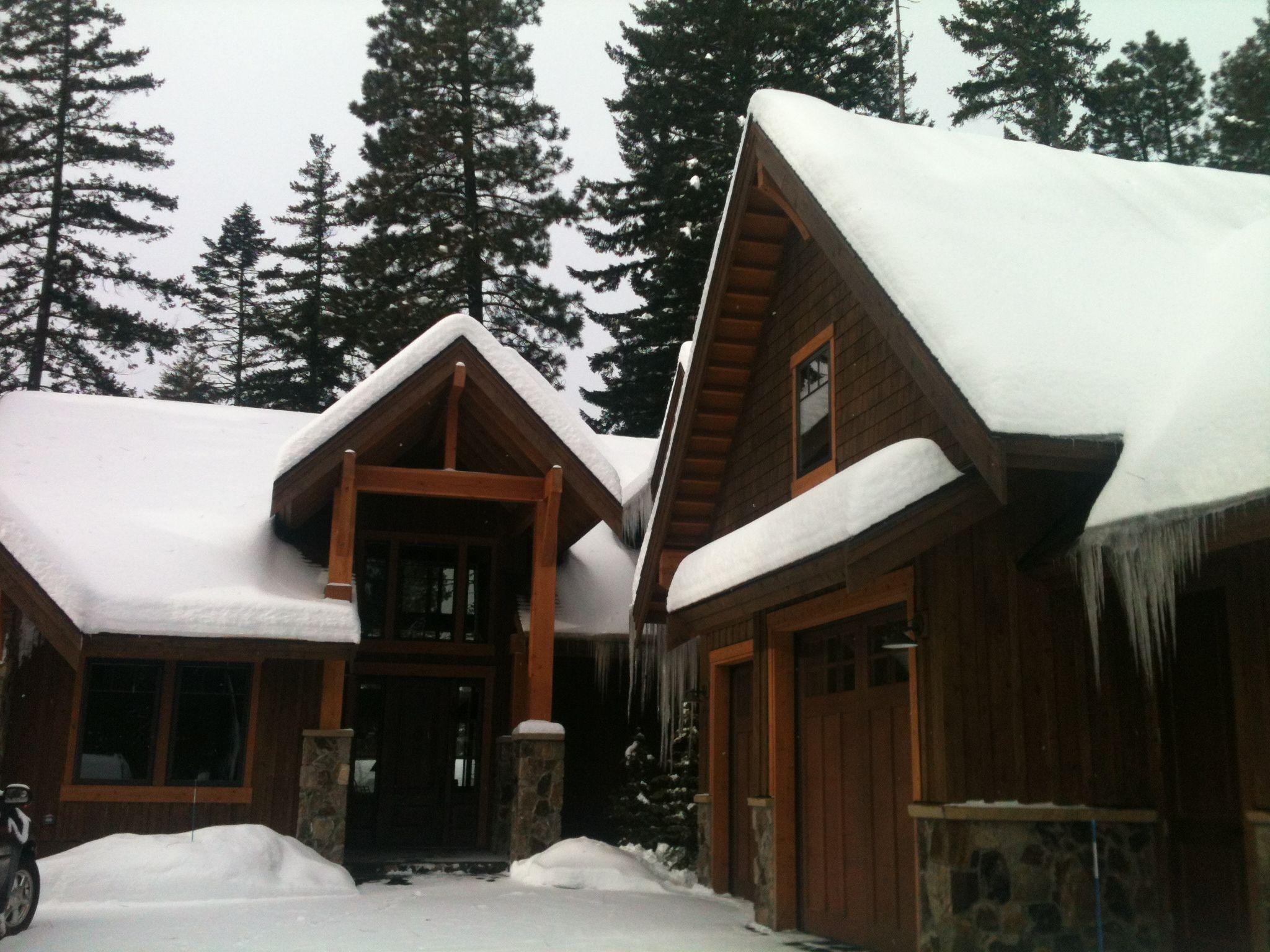 The Suncadia House in Winter