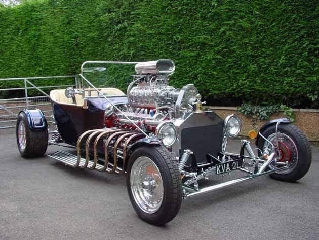 Ford T Bucket With V12 Jaguar Engine Hot Rods Cars Muscle T