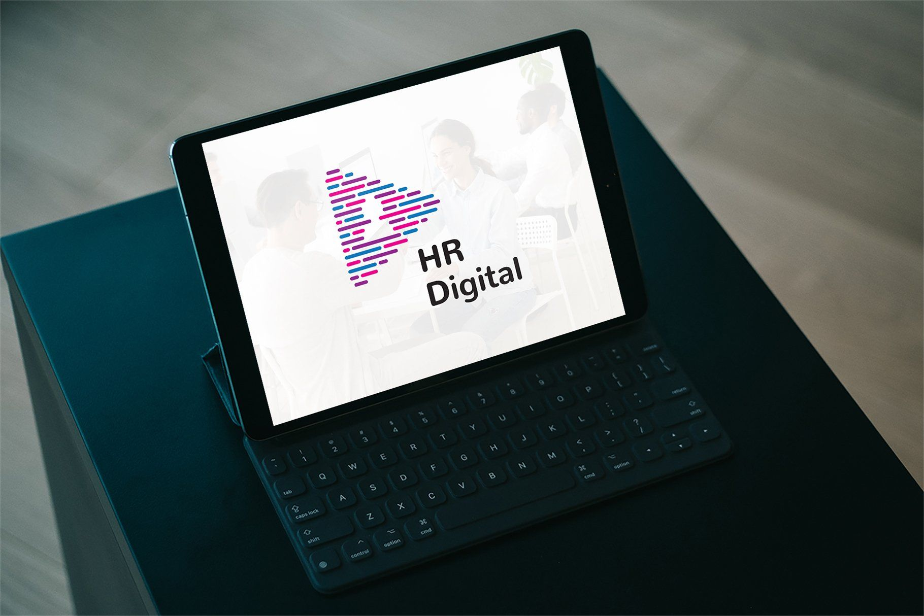 Hr digital logo