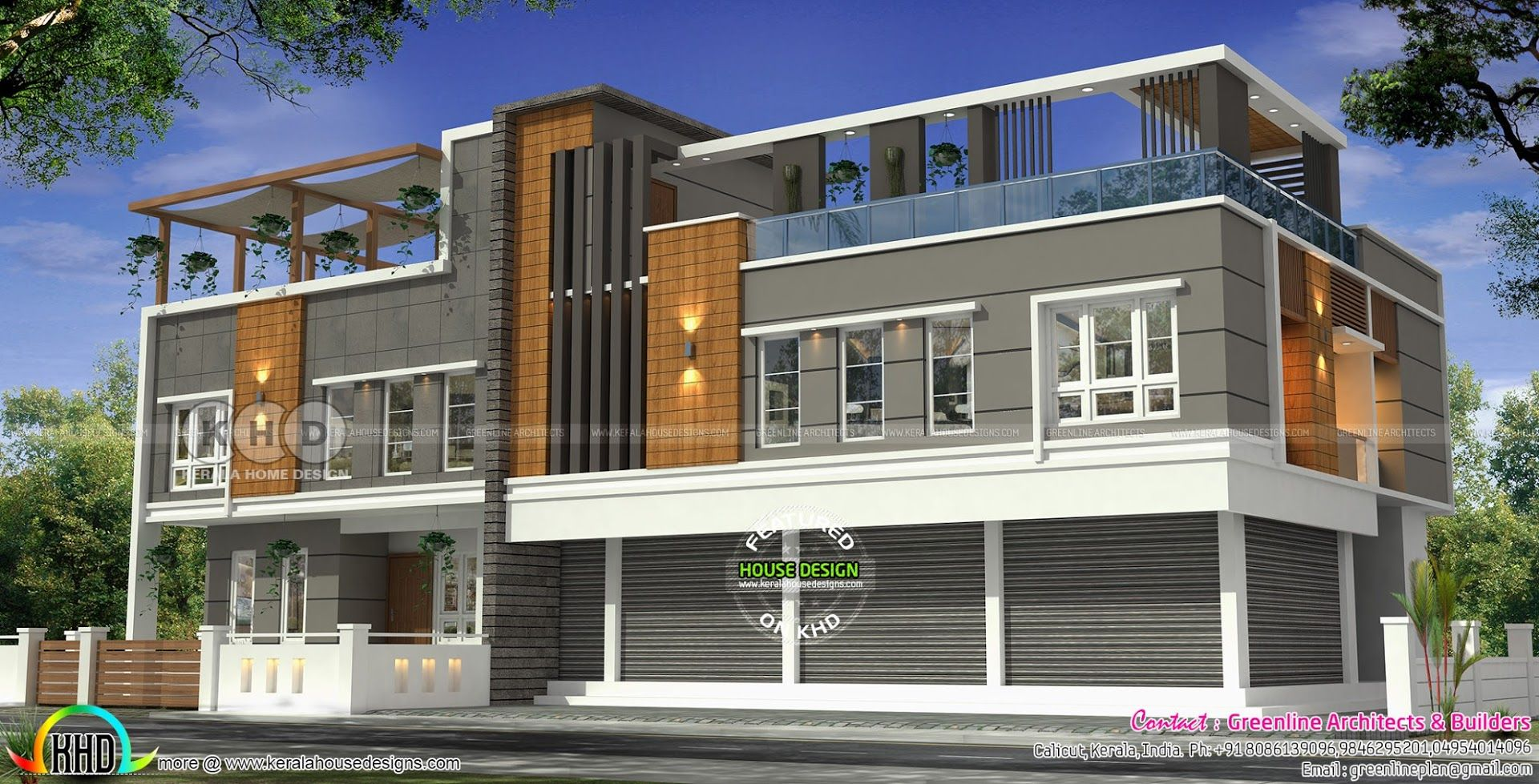 Commercial Apartment Design Google Search Kerala House Design Carriage House Plans Kerala Houses