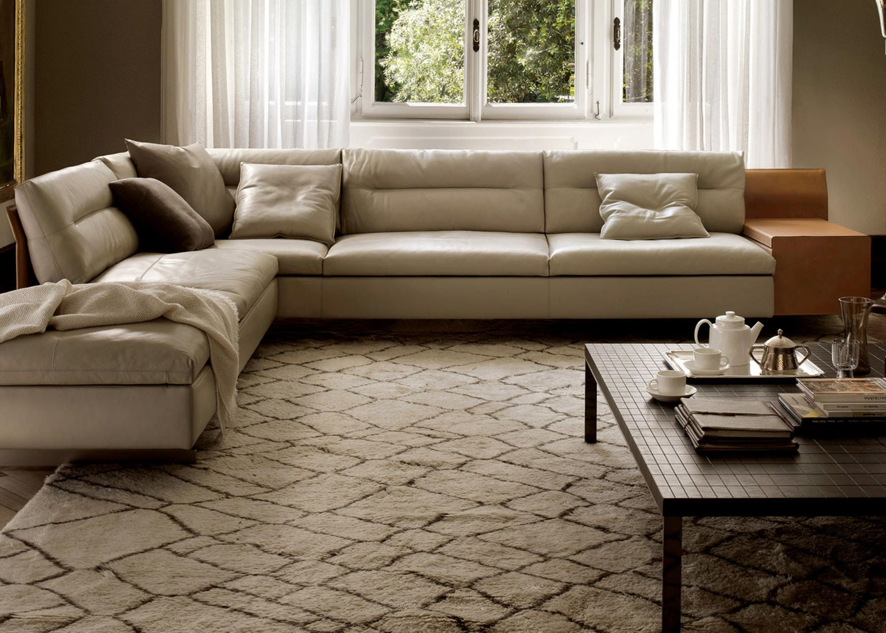 GranTorino, Poltrona Frau Italian furniture modern