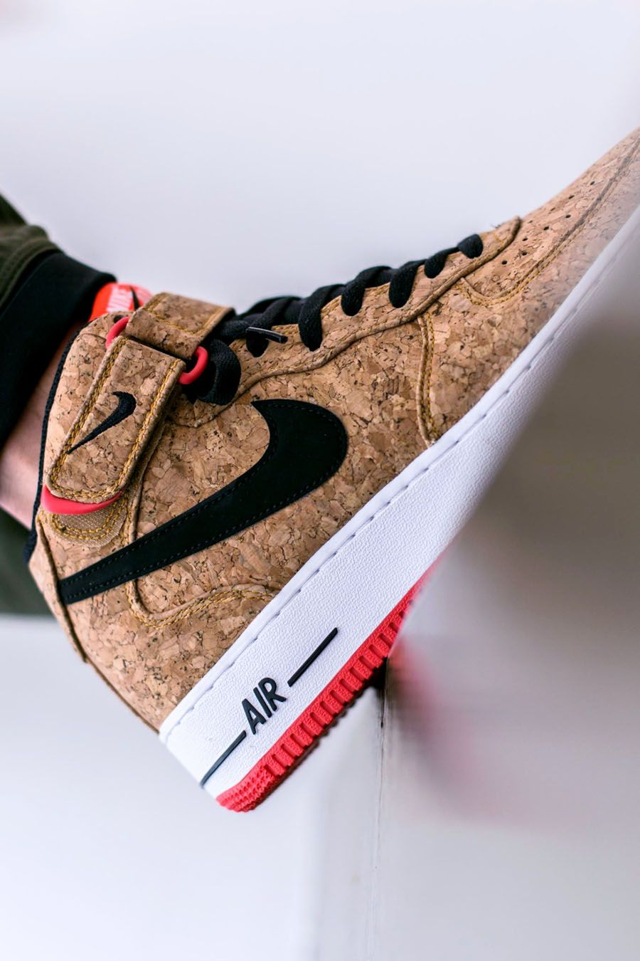 NIKE Air Force 1 Mid 07 Cork | shoes !! woa!! | Nike shoes
