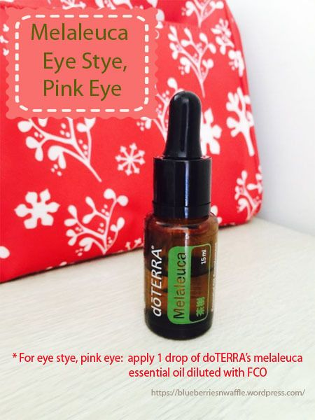 Melaleuca Essential Oil For Pink Eye Infection Melaleuca
