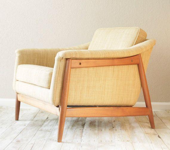 SALE Alf Svensson For DUX Lounge Armchair By SavvyVintageBoutique, $1549.00