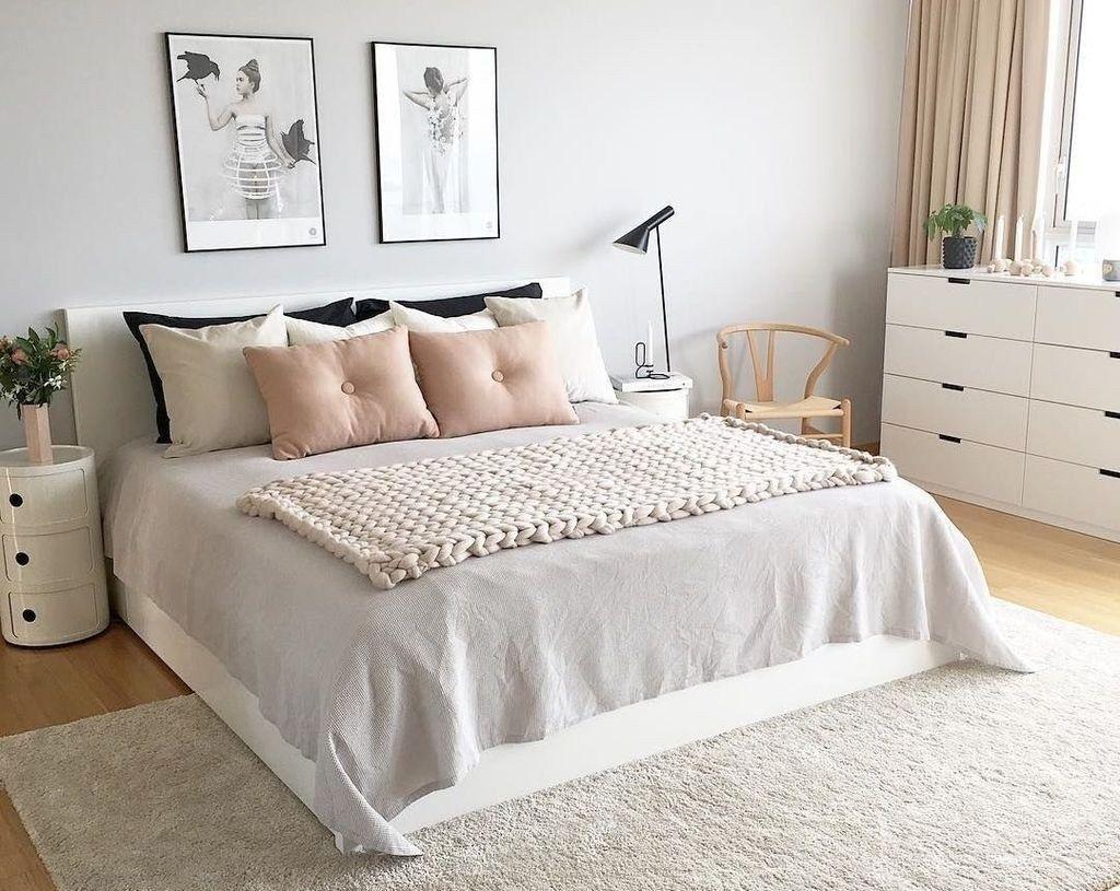 47 Brillanten Skandinavischen Schlafzimmer Design Ideen 17