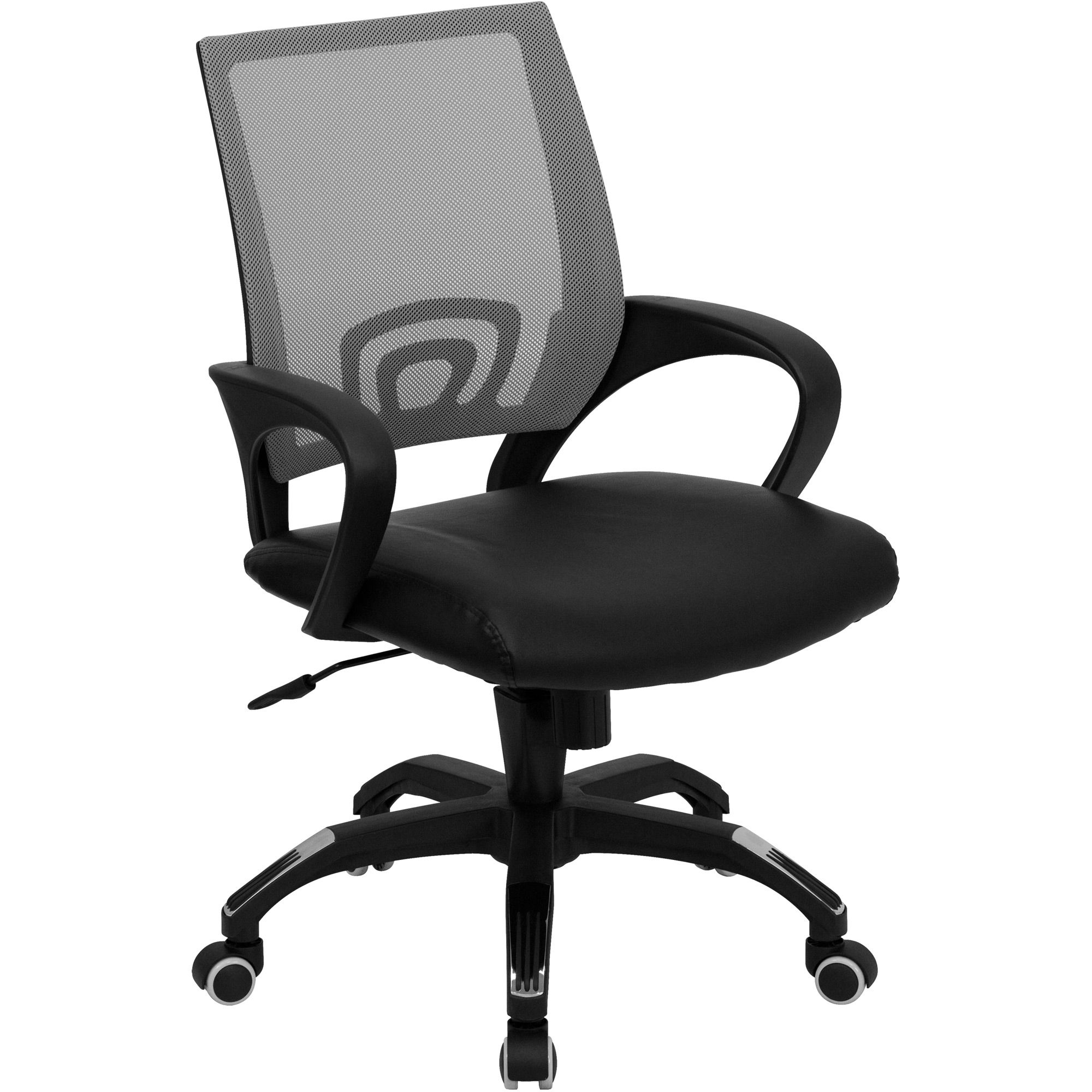 Stupendous The Hotshot Cool Desk Chairs In Grey Offer A Breathable Machost Co Dining Chair Design Ideas Machostcouk