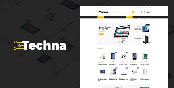 Wordpress Techna - Electronics Shop WooCommerce Theme Download
