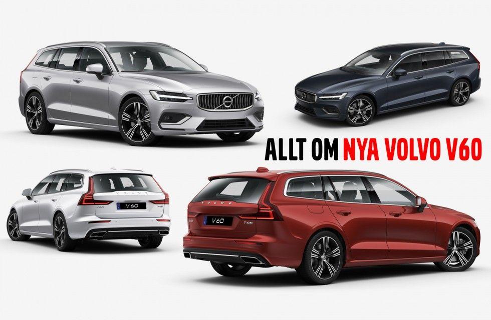 Nya Volvo V60 2019 >> Allt Om Nya Volvo V60 2019 Swede Ridez
