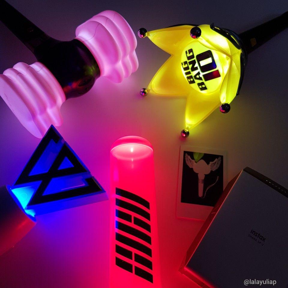 YG Lightstick - Bigbang VIP - 2NE1 Blackjack - Blackpink Blink - Ikon Ikonic - Winner InnerCircle - Lightstick Official #HiLYP Hay All, Visit My Youtube Channel Please 😆