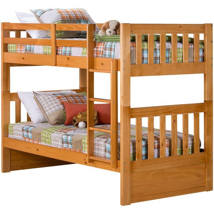 knollwood honey bunk bed bunk beds on Slumberland Bunk Beds id=90716