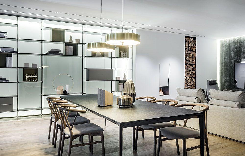 Showroom iconno rimadesio siematic madrid 4 decoracion for Arquitectura de interiores pdf