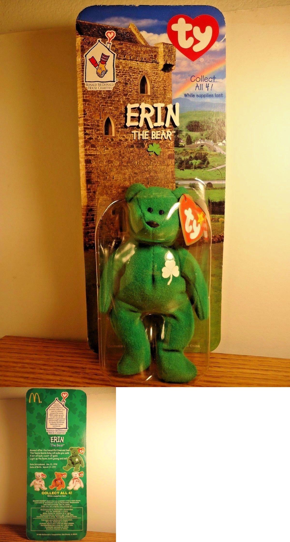 e9d6841b813 Teenie Beanies 441  Vintage~Ty Erin The Bear~ Teenie Beanie~~Retired  Mcdonald S~Rare Error~Nip -  BUY IT NOW ONLY   15.95 on  eBay  teenie   beanies   ...