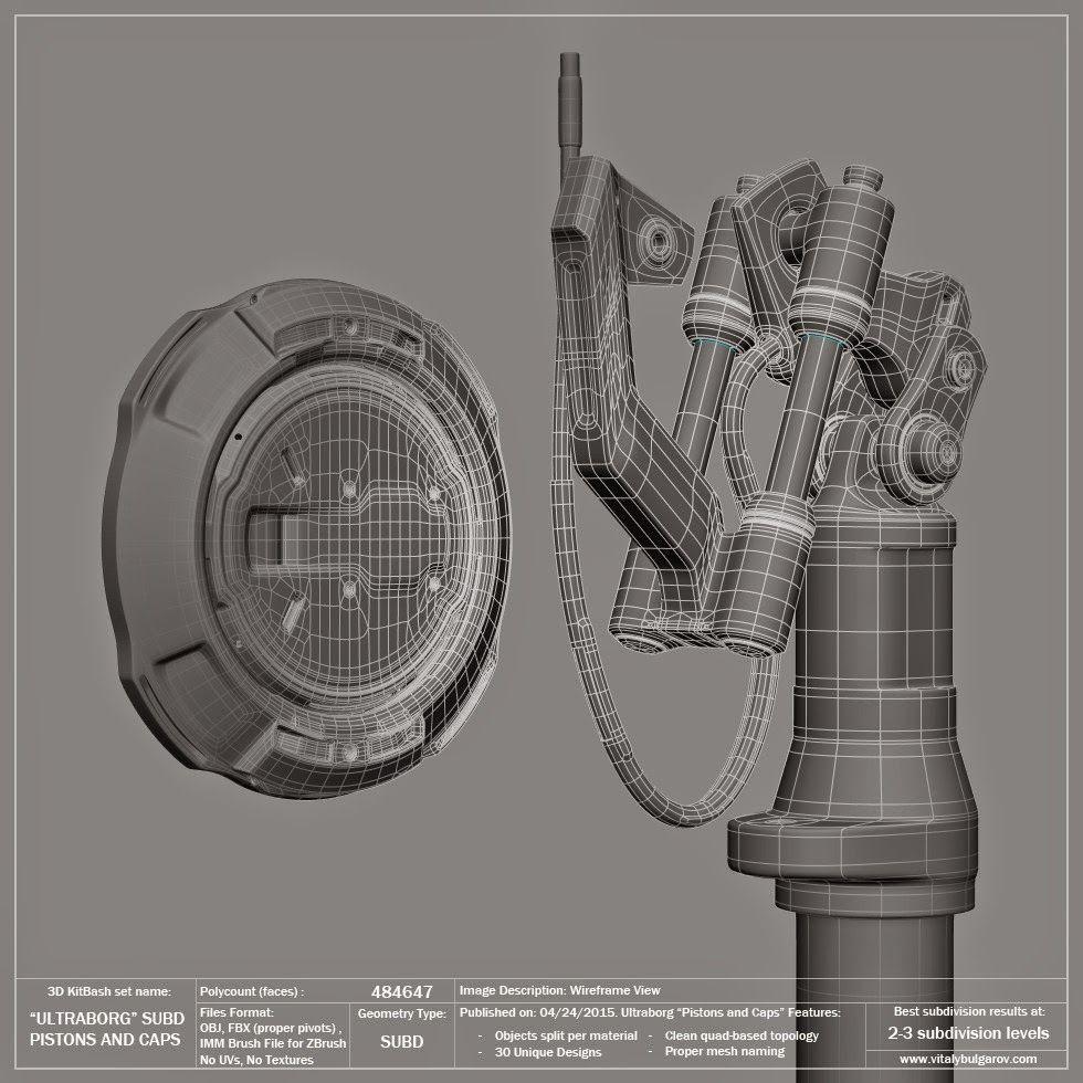 Design Operations Of Vitaly Bulgarov Personaje En 3d Modelos Modelado 3d