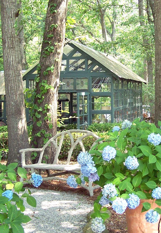 Garden Of Susanne Hudson Garden Room/green House Made From Old Windows