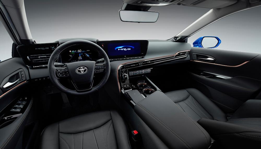 Toyota's hydrogen fuelcell Mirai gets a new, luxurious