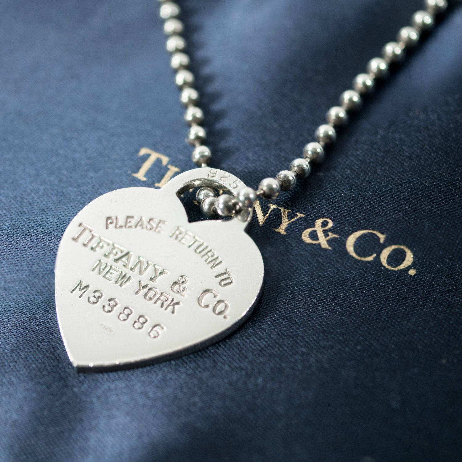 10ce5a5fb Tiffany & Co. Return to Tiffany Heart Sterling Silver Necklace on 34