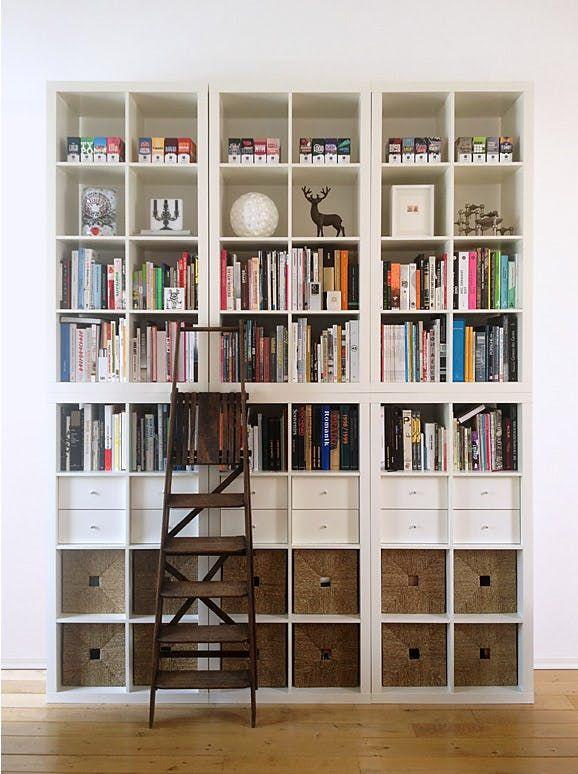 15 Super Smart Ways To Use The Ikea Kallax Bookcase Ikea Kallax