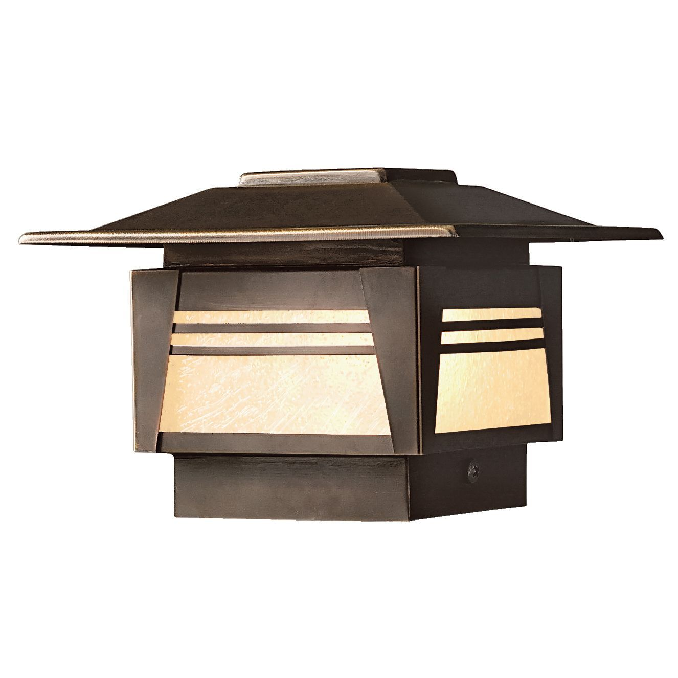 The Zen Garden Outdoor 12v Deck Post Light Features An Asian Inspired Minimalist Design For Subtle But Functional Deck Lighting Avai