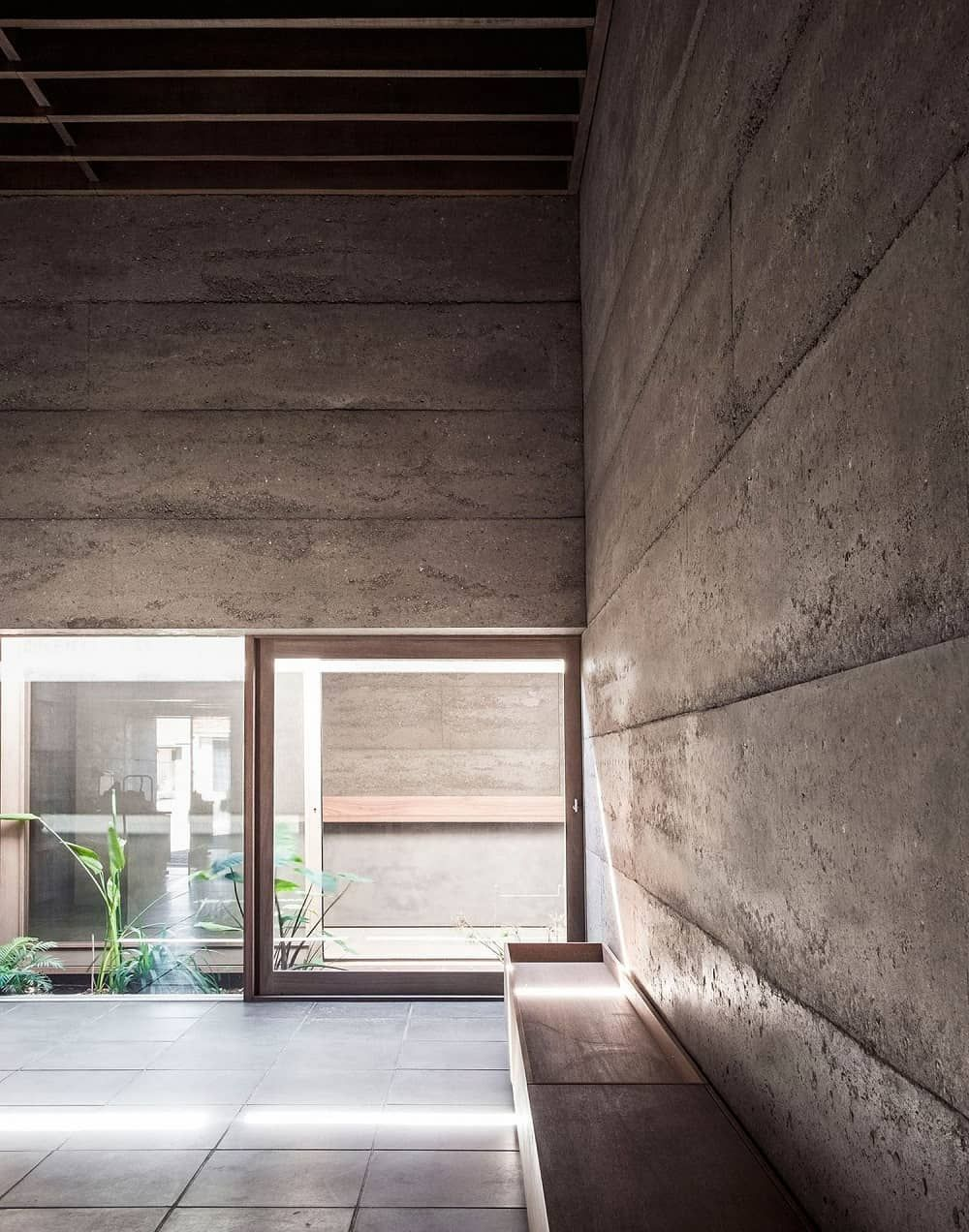 Cloister House By Morq Architecture Perth Architecture Design Visual House Internal Courtyard Architecture