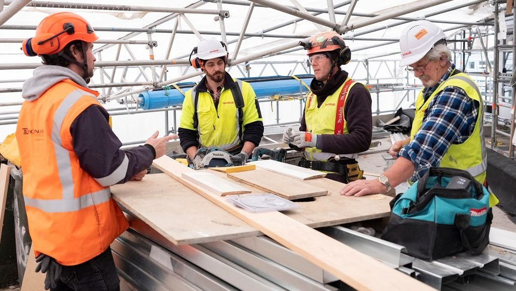 New Zealand's construction industry is growing rapidly due