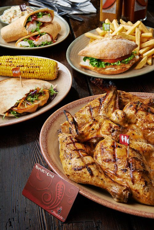 nando nando's nando chicken restaurant food photography food