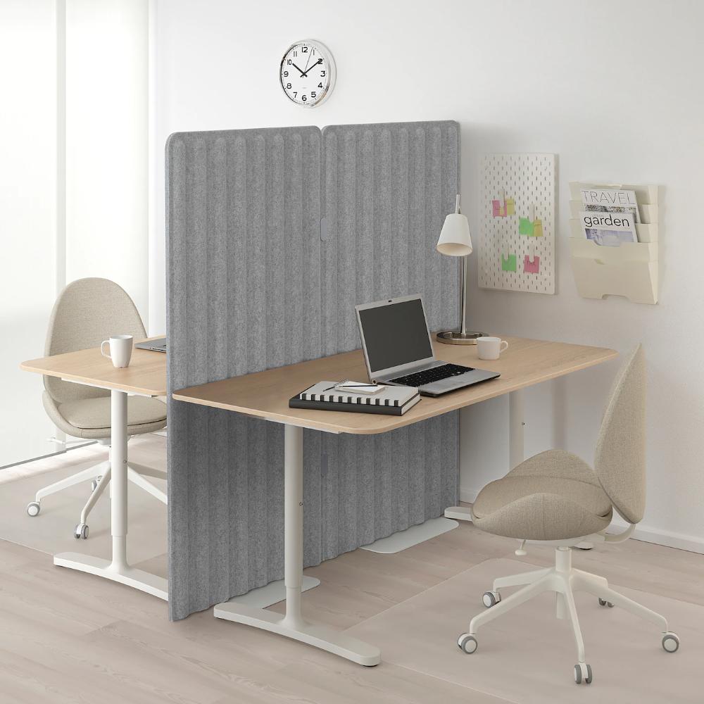 *New* ODDLAUG Sound absorbing panel gray 15 per Pack *Brand IKEA*