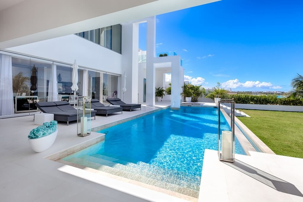 Infinity Pool Anguilla Luxury Beach House Luxury Beach House