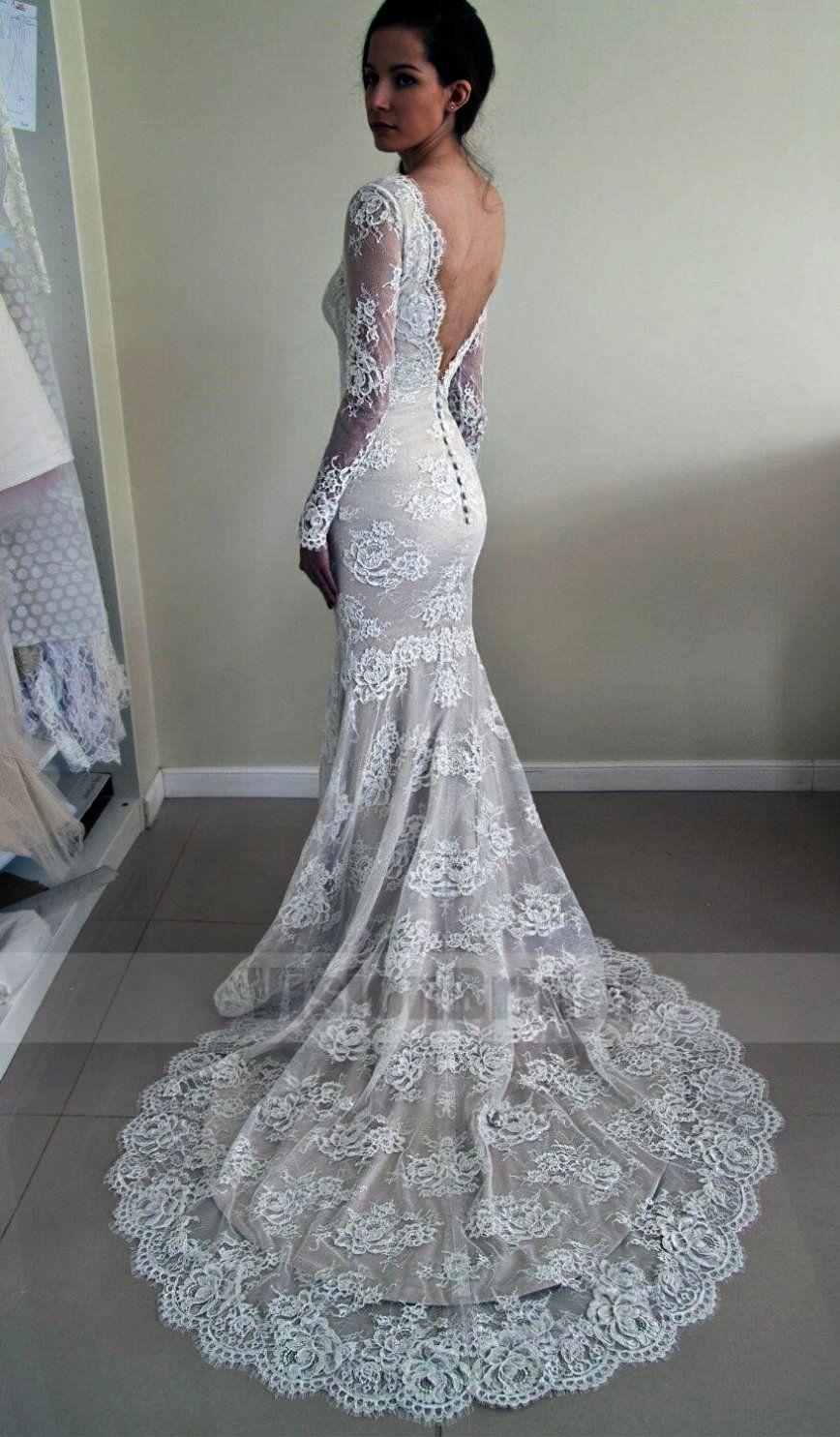 Pin On Lace Wedding Dresses [ 1485 x 868 Pixel ]