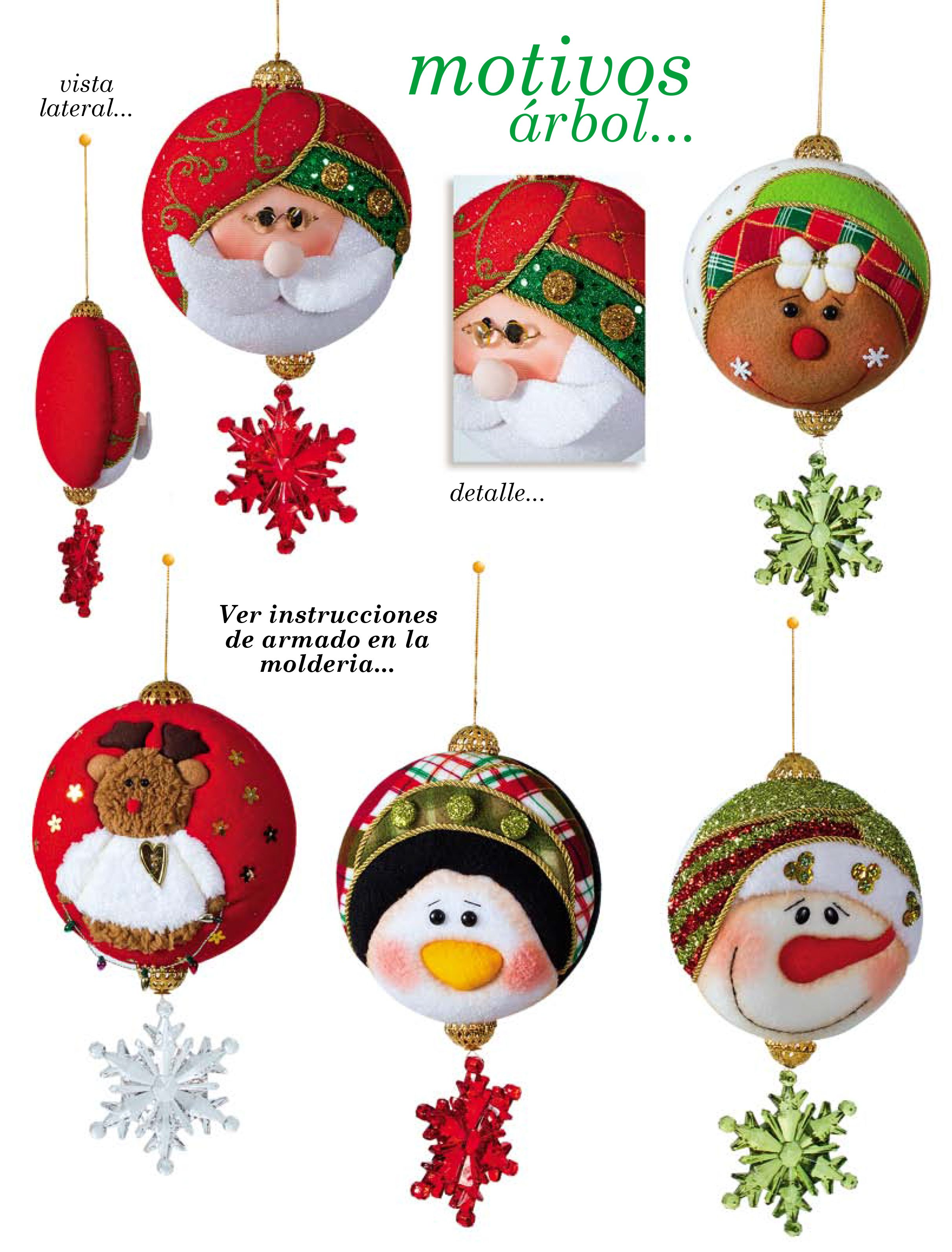 Moldes o patrones para elaborar hermosos muñecos navideños ALBUM 219 ...