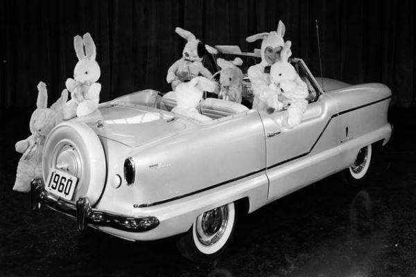 Easter Bunny Metro Tiny Cars American Motors Small Cars
