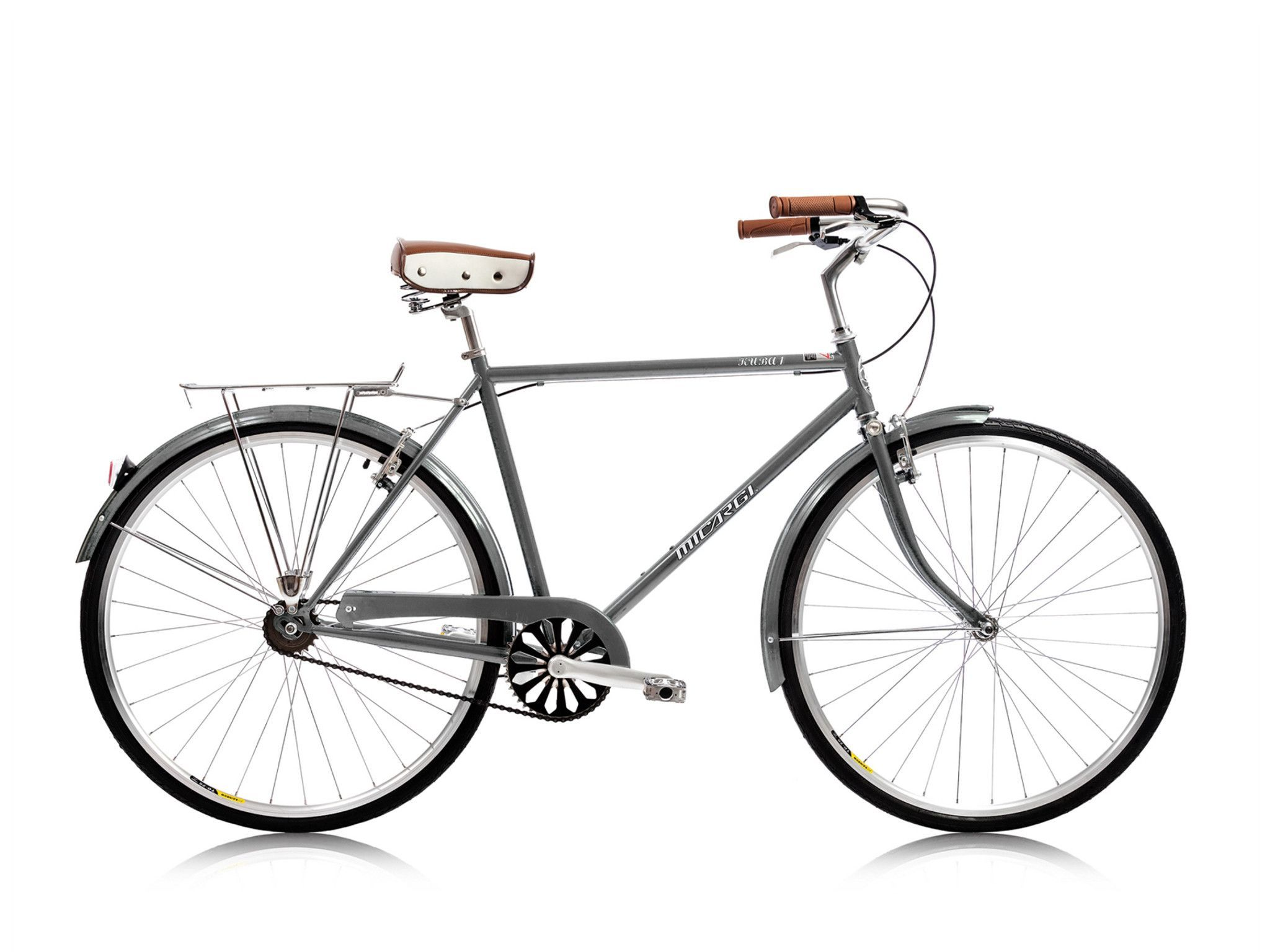 Micargi Kuba 1 Single Speed City Commuter Bike Grey Vintage Euro Styl Kookabike