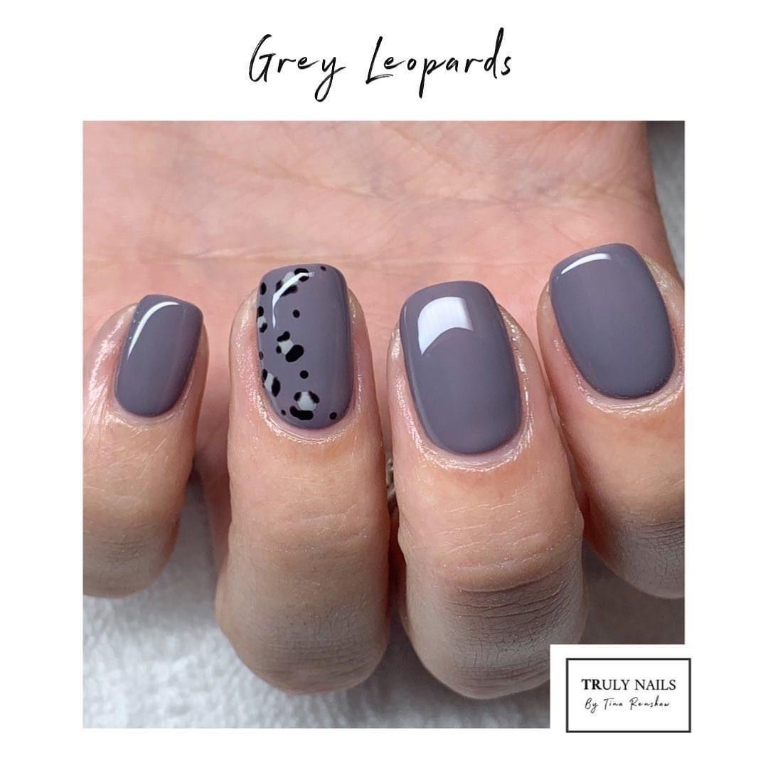#GelNails #ManchesterNails #Irlam #Cadishead #M44 #TrulyNailsM44 #NewNailDay #NavyProTools #TheGelBottle #ShortNails #NaturalNails #BIAB #LeopardNails #GreyNails #NailArt