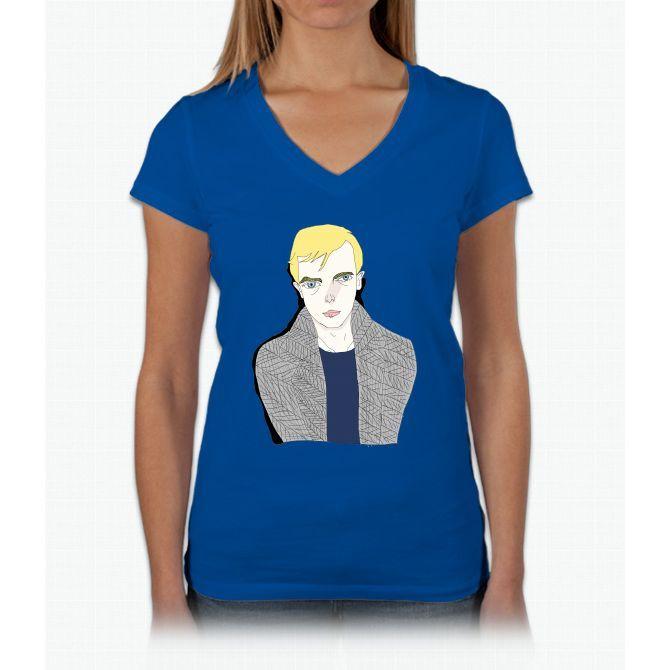 Lucien Carr Harry Potter Womens V-Neck T-Shirt