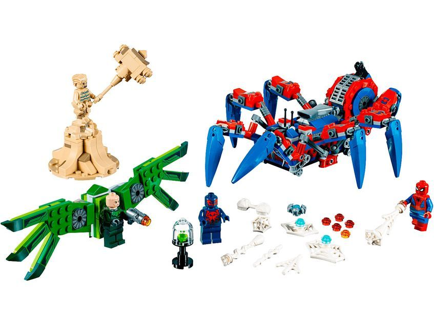 LEGO 76113 Super Heroes Spider-Man Bike Rescue Web Slinging Fun Building Set