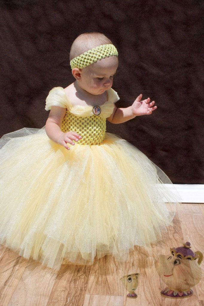 Princess Belle Tutu Dress
