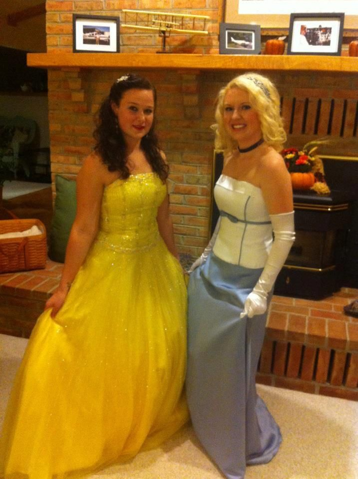 Halloween Bridesmaid Costumes.Diy Halloween Costumes Use Old Prom Dresses And Bridesmaids
