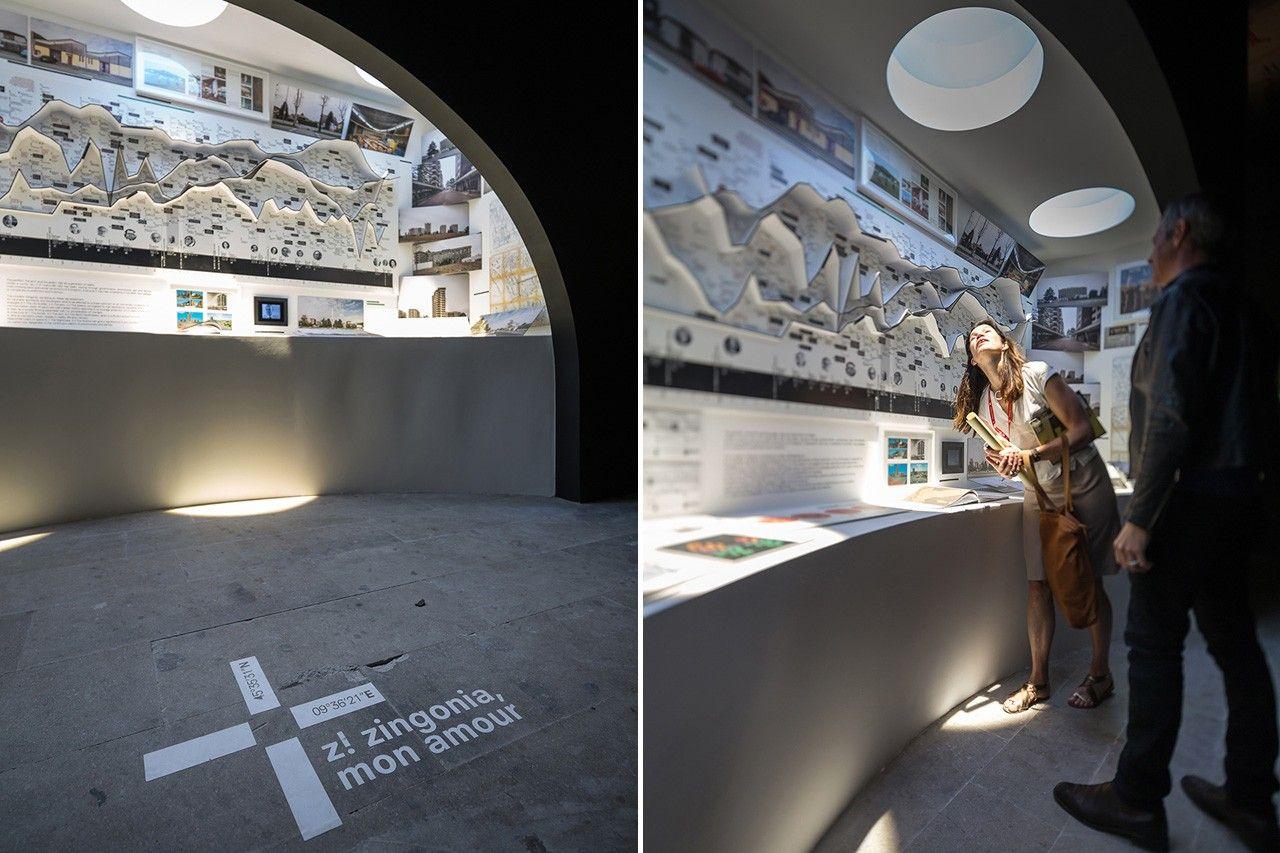 """""""Z! Zingonia, Mon Amour"""" è il titolo della mostra allestita a Monditalia da Argot ou La Maison Mobile con Marco Biraghi e dedicata a Zingonia."""