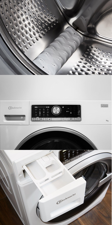 Bauknecht Wm Trend 724 Zen Waschmaschine Frontlader Waschmaschine Bauknecht Wasche