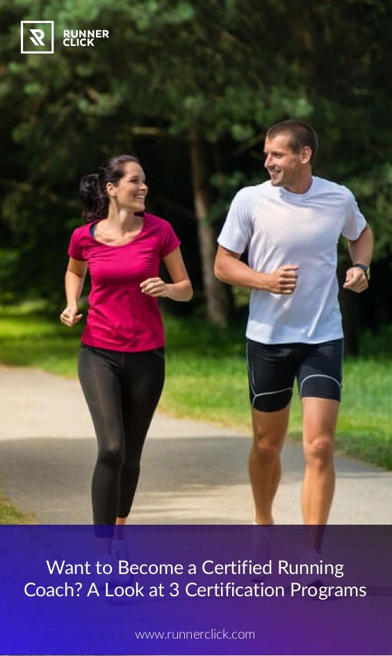 Becoming A Certified Running Coach What You Need To Know Running