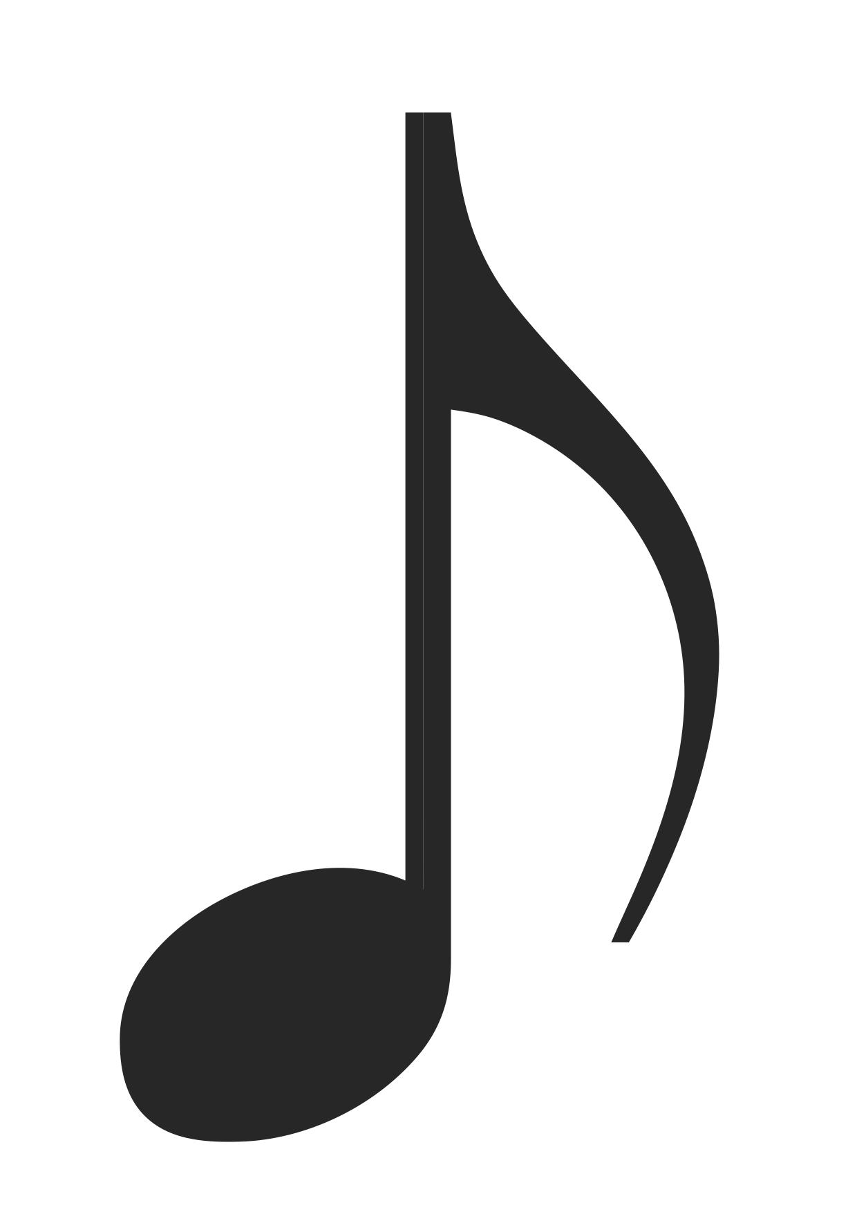 Symbole De La Croche En Musique En Pvc Lavable Peut S Jeux