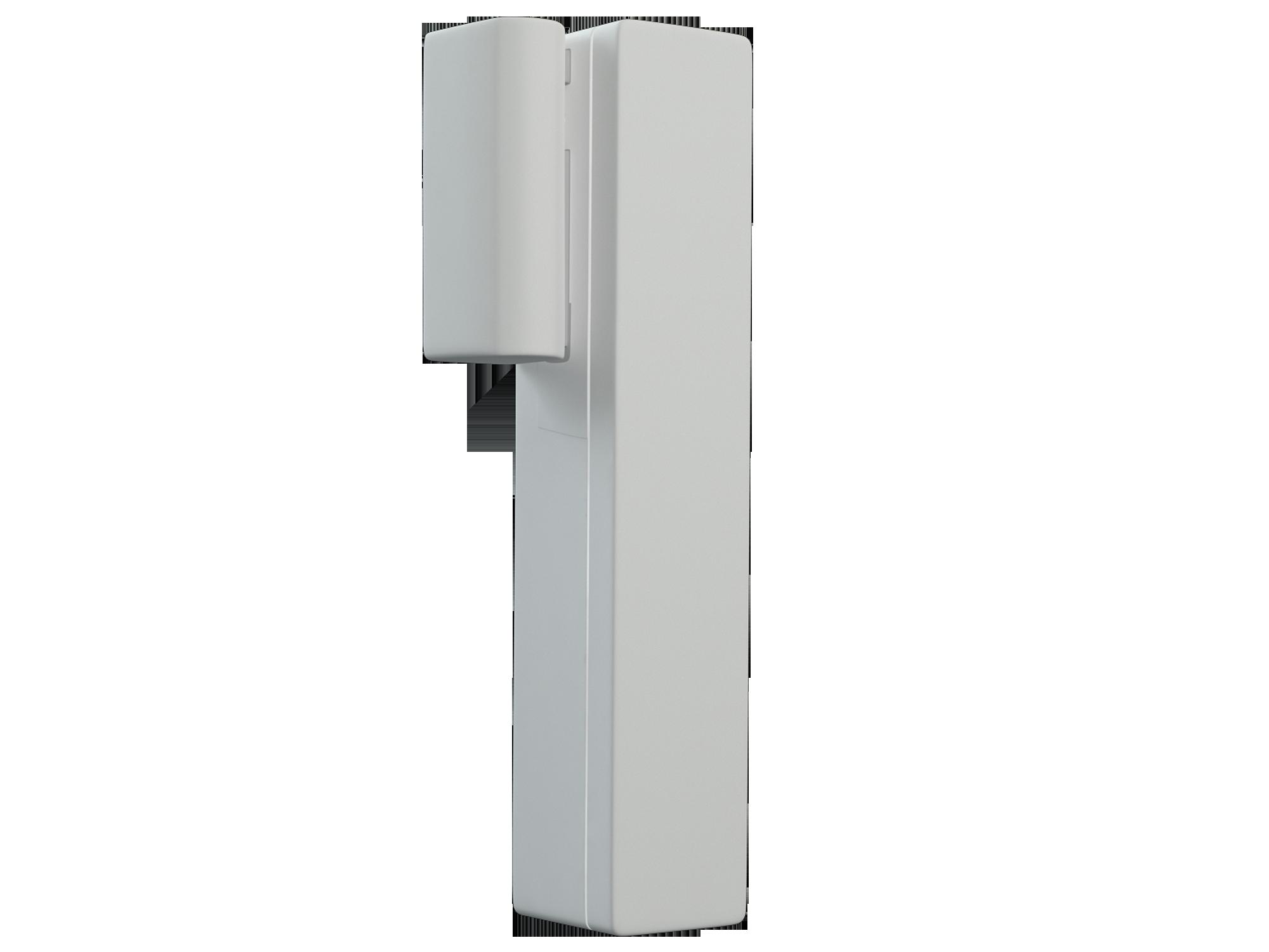 Modelisation 3D du détecteur d'ouverture. Vue de Profil designed by Backlight Studio.