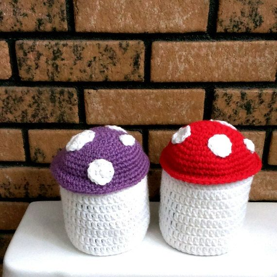 cozy paper holders. Tissue Accessories Cozy Mushroom Crochet Cover Bathroom Housewares Toilet Paper Roll Home Decor Set Of Holders E