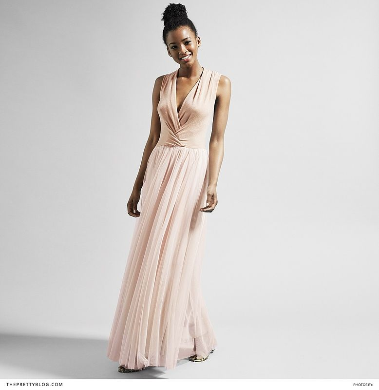 Let Your Bridesmaids Shine In Dresses From Yde Pastel Pink