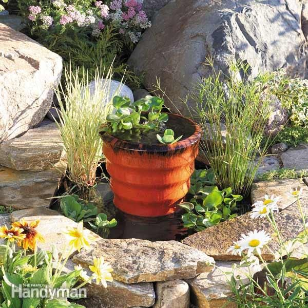 Genial How To Build A Pond U0026 Fountain In One Day: Add Life To Your Backyard With  This Affordable Fountain. The Ingredients For An Attractive, ...