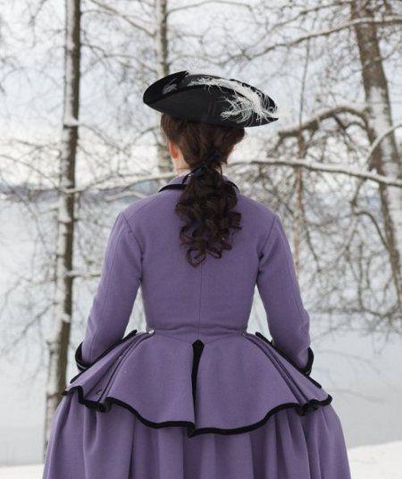 Georgian riding habit 18th Century reproduction | Women\'s Fashions ...