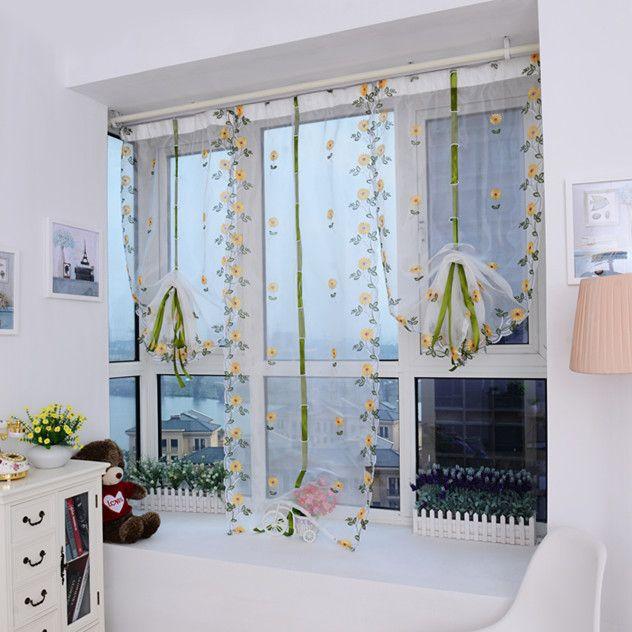 Cortinas cortinas diy nova venda quente romântico transparente 1 ...